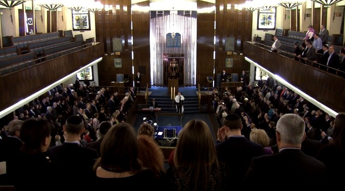 Rabbi Lionel Rosenfeld, Western Marble Arch Synagogue