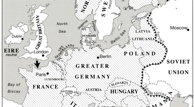 German-dominated Europe 6 June 44