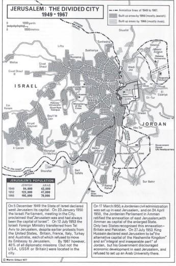 Jerusalem Divided