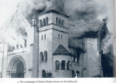 Kristallnacht synagogue