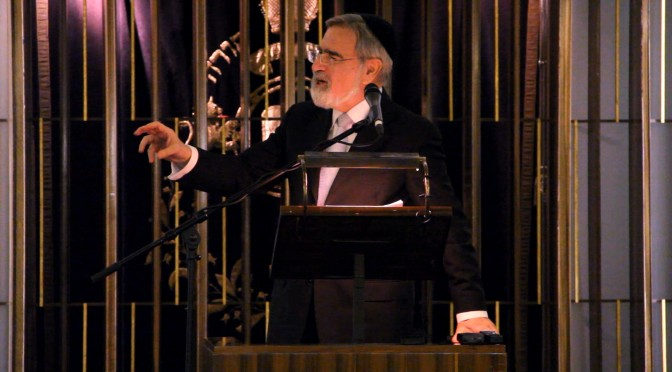 Rabbi Lord Jonathan Sacks' tribute