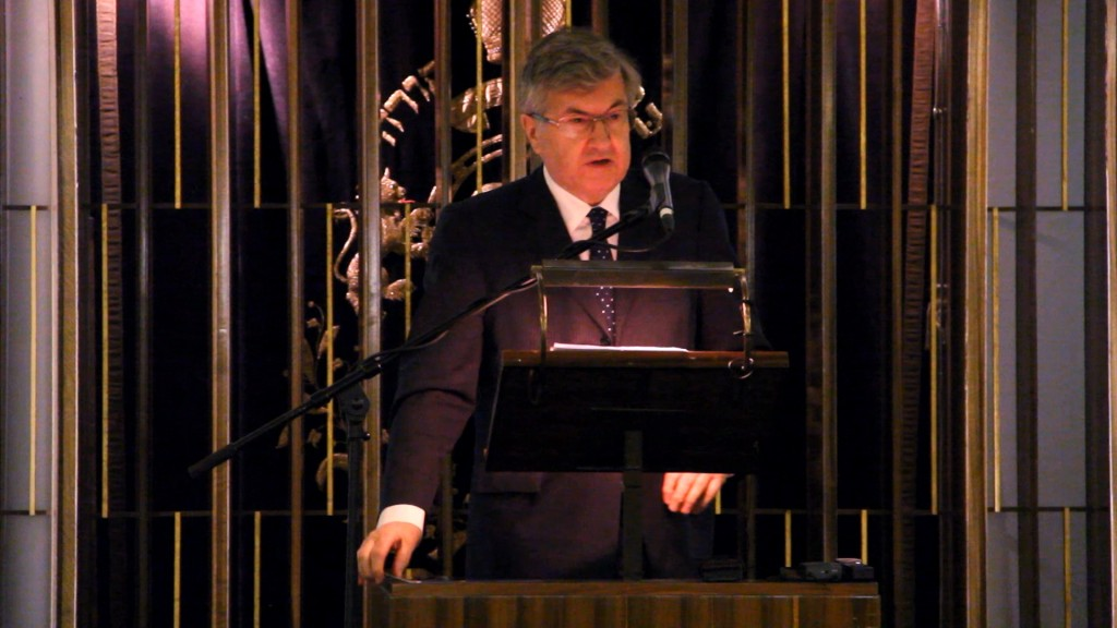 Professor Sir Richard Evans' tribute