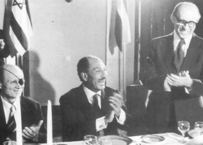 Sadat in Jerusalem