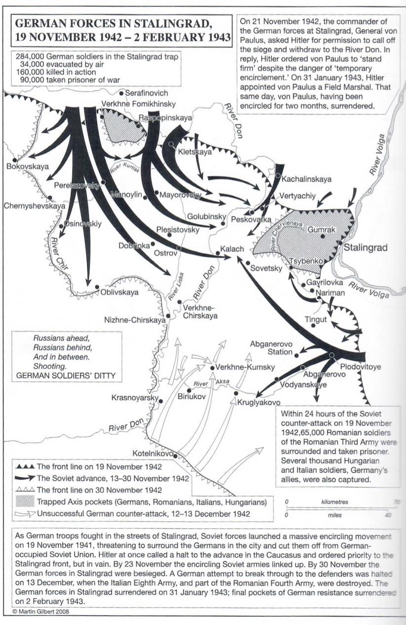"Stalingrad, February 1943 ""Renewed hope"" - Sir Martin Gilbert"