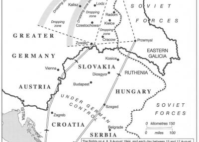 Warsaw Uprising partial map