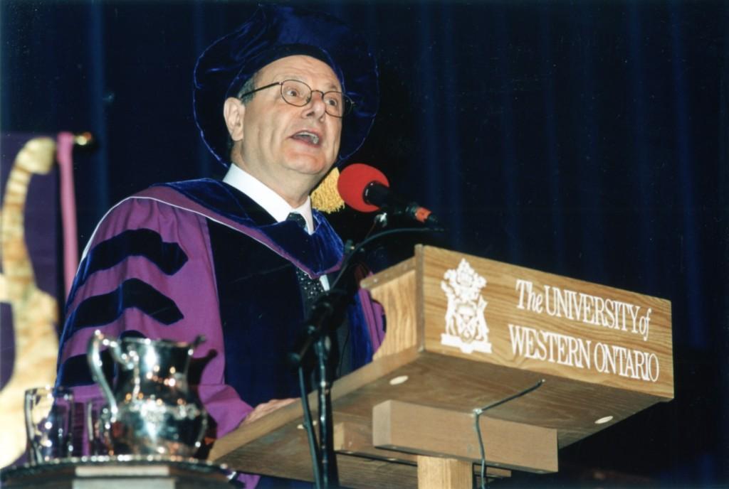 4 June 2003,  L L. D. D.  Honoris Causa, The University of Western Ontario, London, Canada