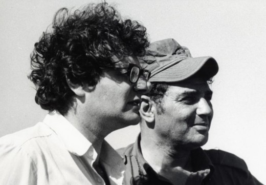 Sir Martin with a Soldier in Israel during the Yom Kippur War of 1973