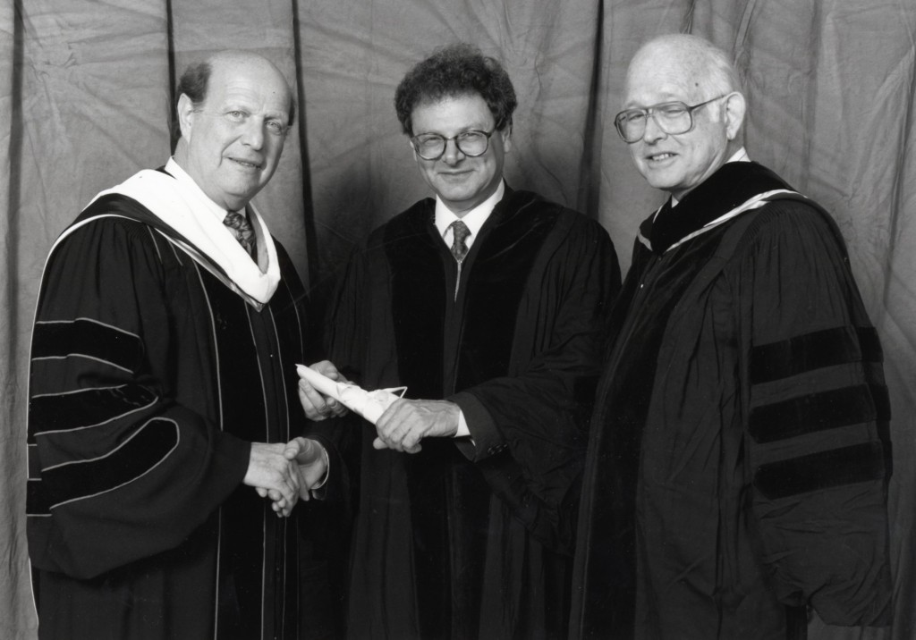 27th May, 1992,Honorary Degree, Hebrew Union College, Cincinnati, Ohio, USA