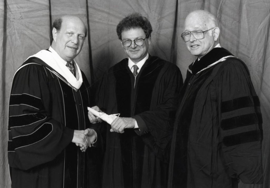 27th May, 1992,Honorary Degree, Hebrew Union College, Cincinnati, Ohio, USA