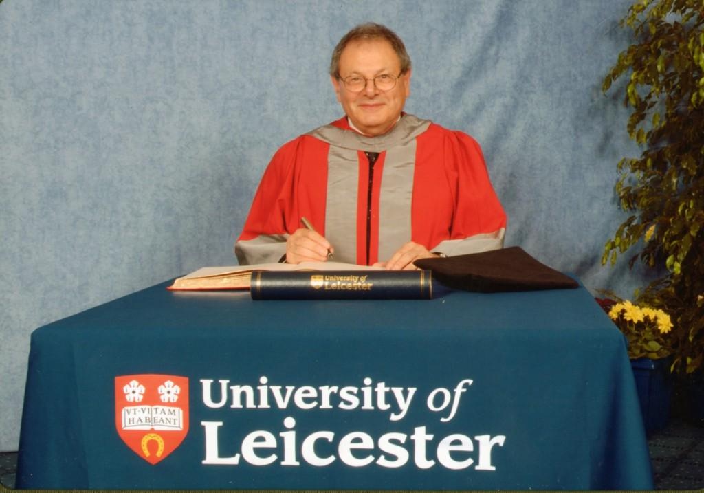 15 July 2004,Hon D. Litt, University of Leicester, UK