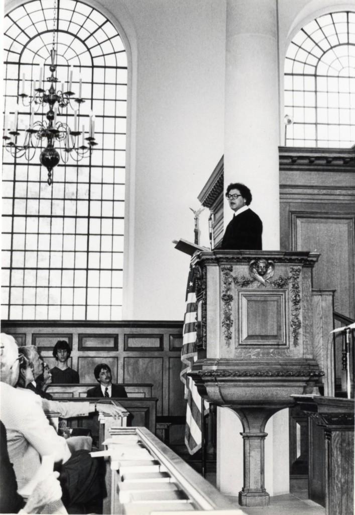 26 April 1981,  Hon .D.Litt. Westminster College, Fulton, Missouri. USA